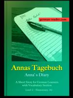 German Reader: Annas Tagebuch by Klara Wimmer