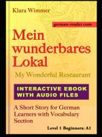 Mein Wunderbares Lokal - Interactive Ebook and Audiobook by Klara Wimmer